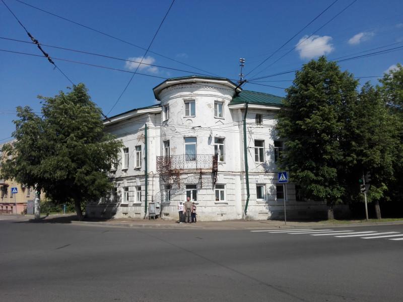 Дом Пушкиных. Конец 18 в.