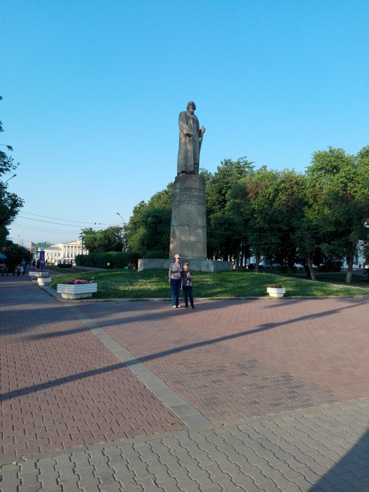 Памятник Ивану Сусанину (1967 г)
