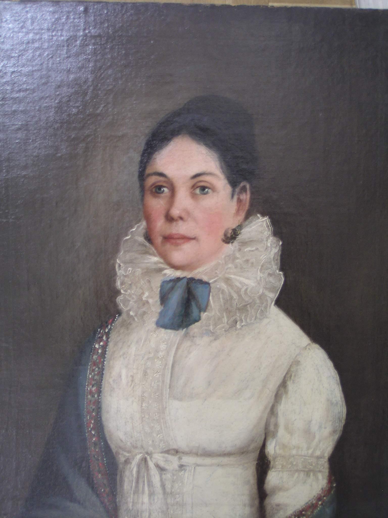 Александра Илларионовна Пушкина, рождённая Молчанова (?-1824).