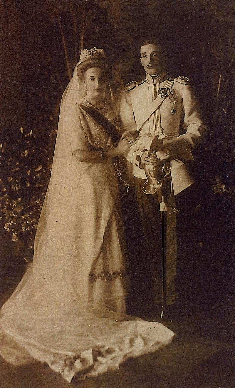 1911 год. Свадьба Константина и Татьяны.