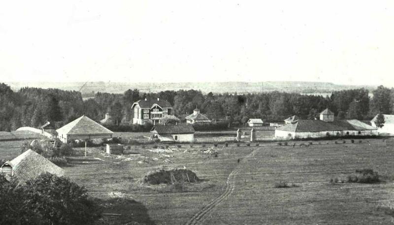 Давыдково. Усадьба Пушкиных.  Фото 1906-7 г.
