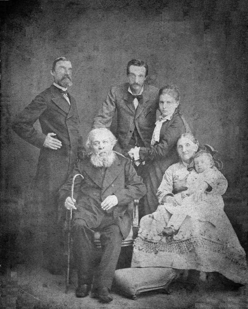 Фото 1878-79 г.г. Семейный архив