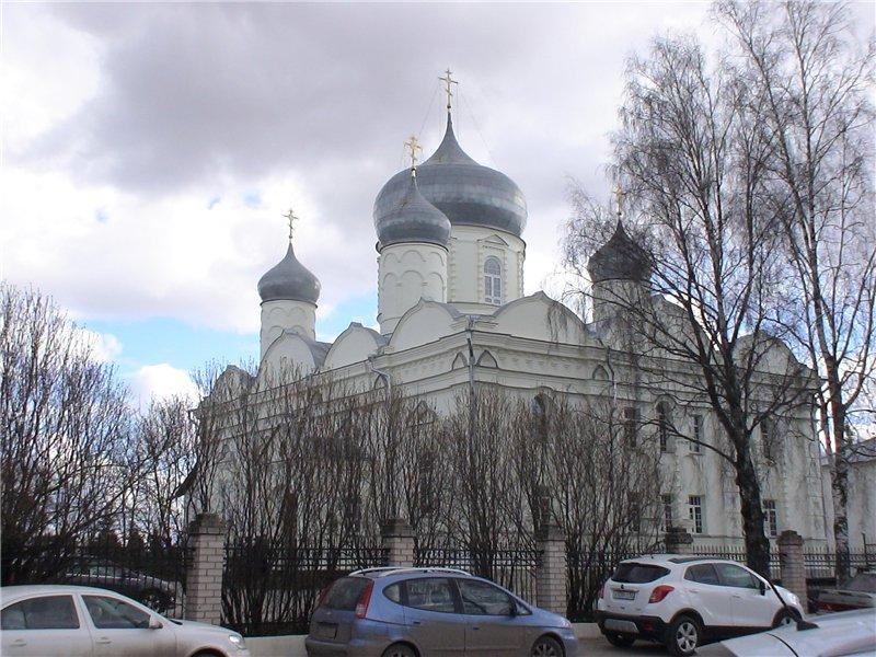 Зверин-Покровский монастырь. Покровский собор. 1899 г.