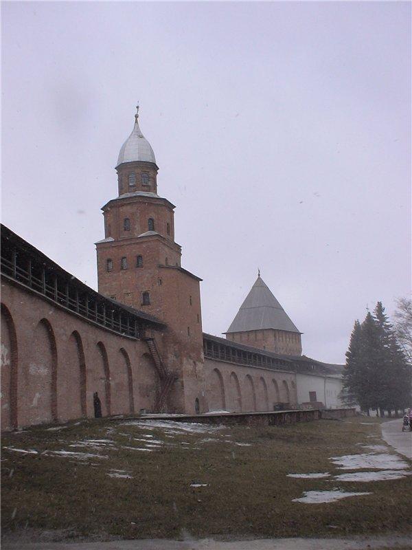 Башня Кокуй, самая высокая в Детинце. Конец 17 века.