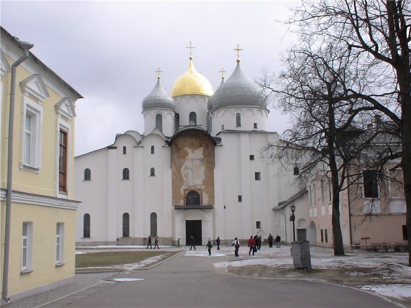 Софийский собор, сердце города. 1045-50 г.