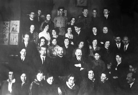 Лаборатория А.А. Ячевского. Ленинград. 1930.