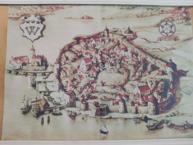 Фото из музея в замке.