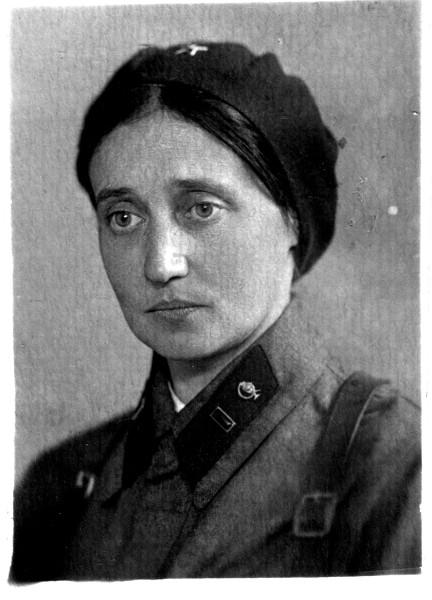 Елизавета Львовна Пушкина, жена А.И. Брусова. 1941. 2.jpg