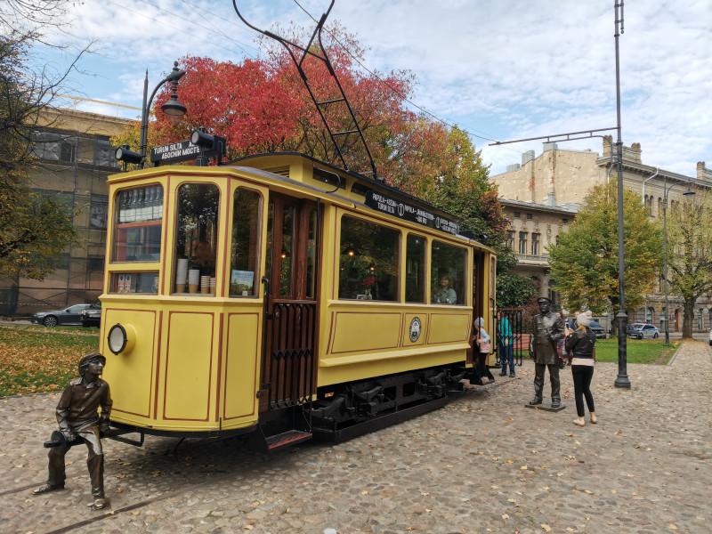 Выборгский трамвай.
