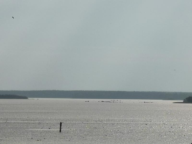 Выборгский залив. Балтика. Шхеры.