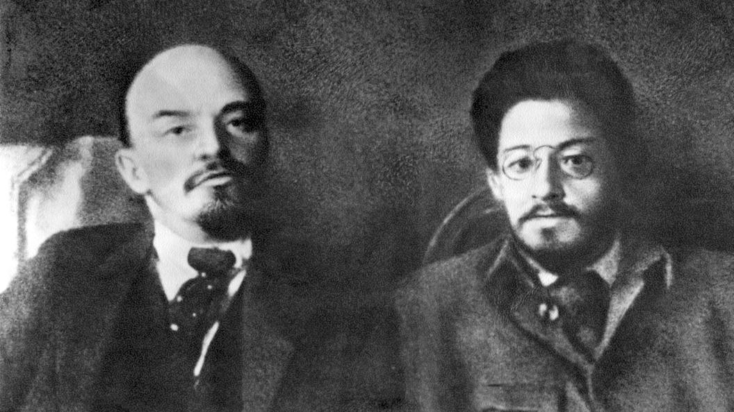 Ленин и Свердлов. Фото из Сети.