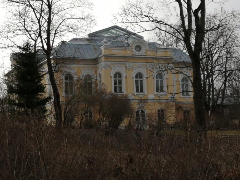 Дом К.П. фон Роттаста в Павловске, в парке Мариенталь. Фото 2020 г.