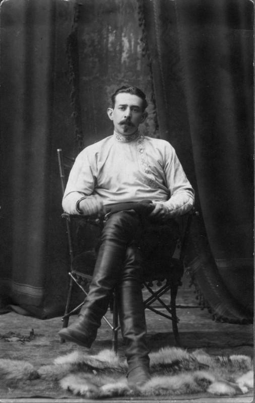 Сергей Львович Пушкин. Кострома. Фото 1925 г.