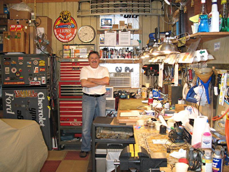 rod-in-garage
