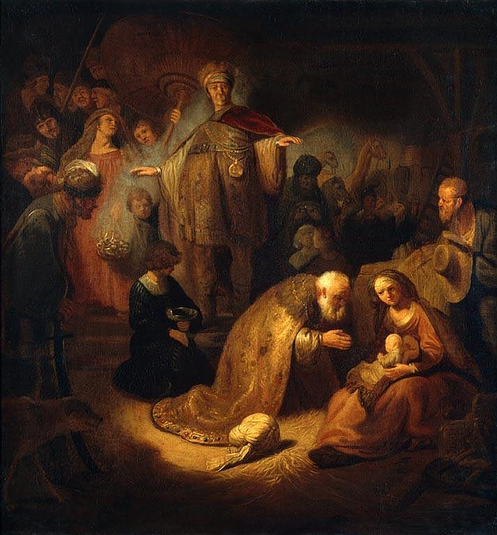 Rembrandt_1632_Magi_worship