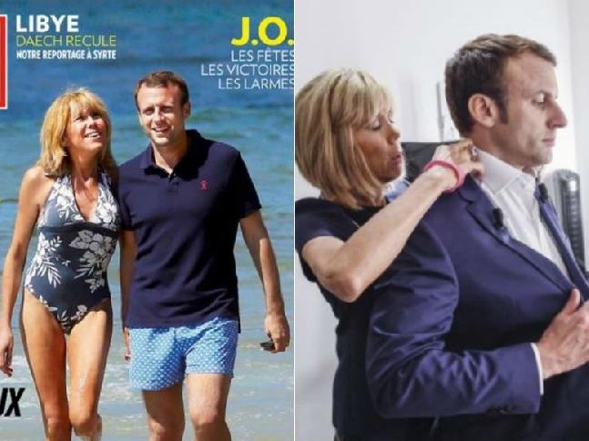 Macron_with_wife