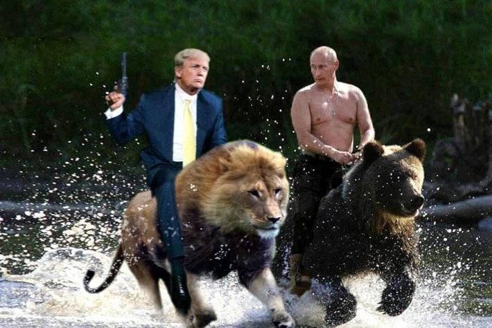 Trump-Putin-mem