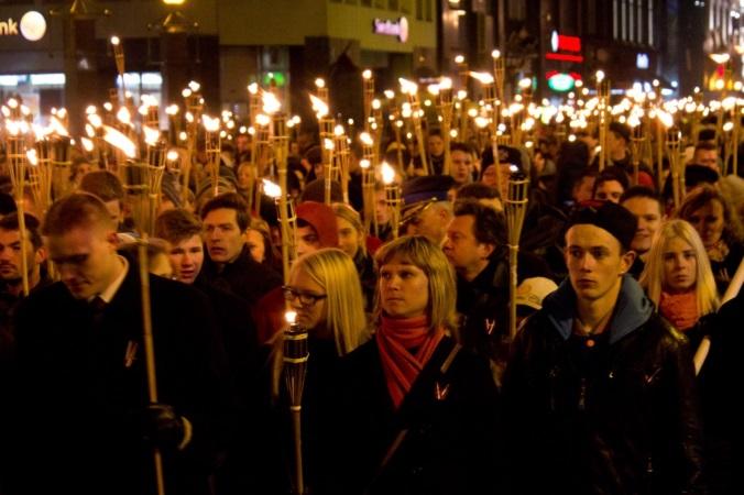 Riga_torch_march