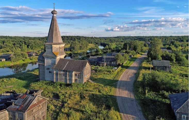 church-Prophet-Elijah_Saminskiy Pogost_Vologda-region
