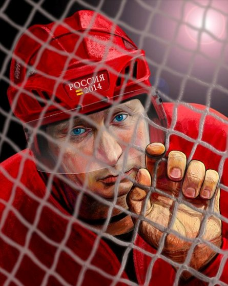 Путин-хоккей