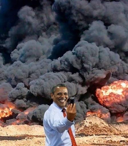 obama-война