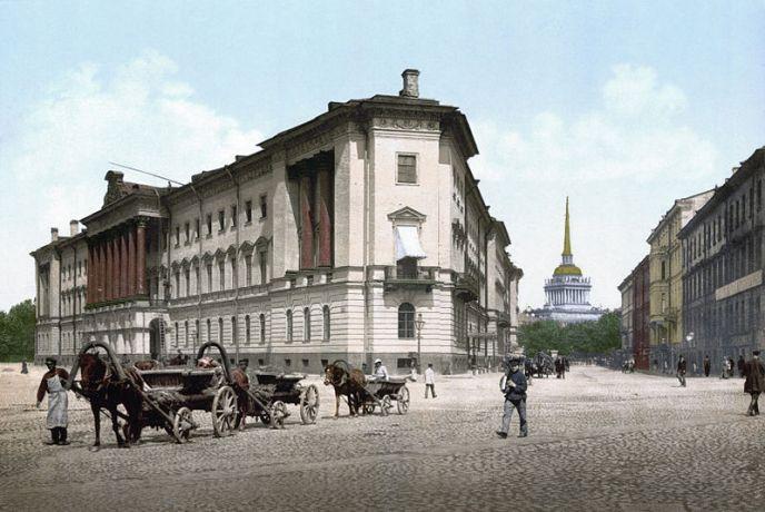 SPB_War_Offices_(Lobanov-Rostovsky_palace)_1890-1900