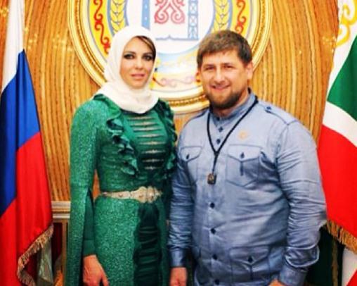 Kadyrov-Elizabeth-Hurley