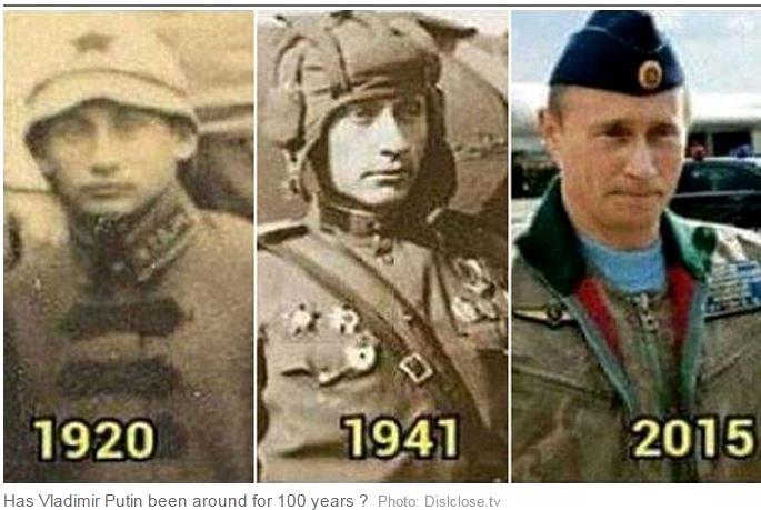 Британцы верят в бессмертие Путина