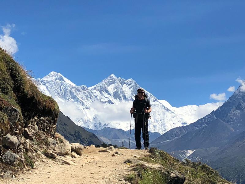 День, когда мы первый раз увидели Эверест.