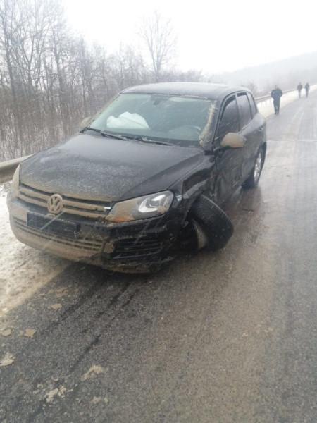 Старые знакомые - кортеж президента Молдавии опять подбили