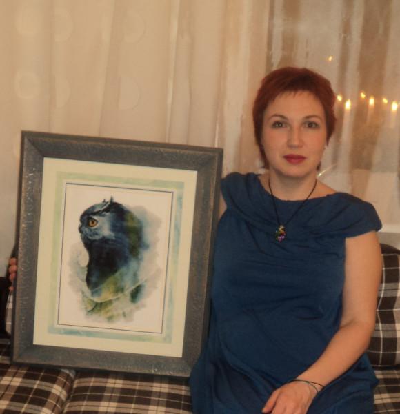 С портретом подарком