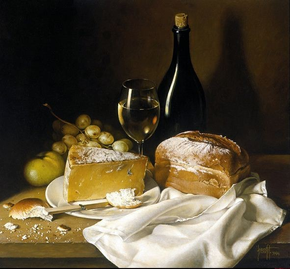 6_Jose-Escofet.-Syir-hleb-i-vino.-holst-maslo