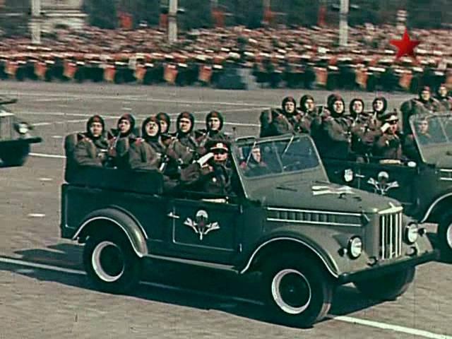 ГАЗ-69 ВДВ середина 1950-х годов