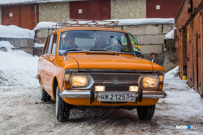 "1979'ИЖ-2125 ""Комби"" (НГС Фото: Ольга Бурлакова)"