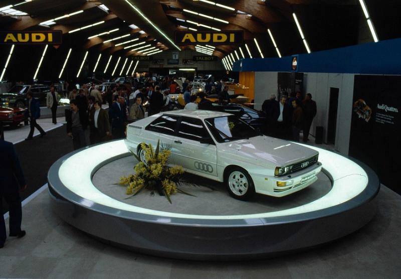 1980'Audi Quattro - Женевский Автосалон