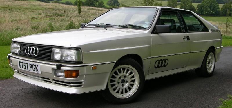 Audi Quattro (G757 PGK)