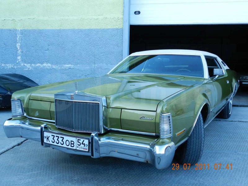 1972'Lincoln Continental Mark IV (к333ов54)