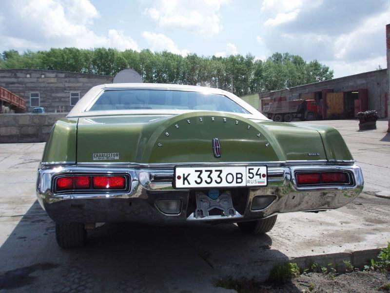 1972'Lincoln Continetnal Mark IV (к333ов54)
