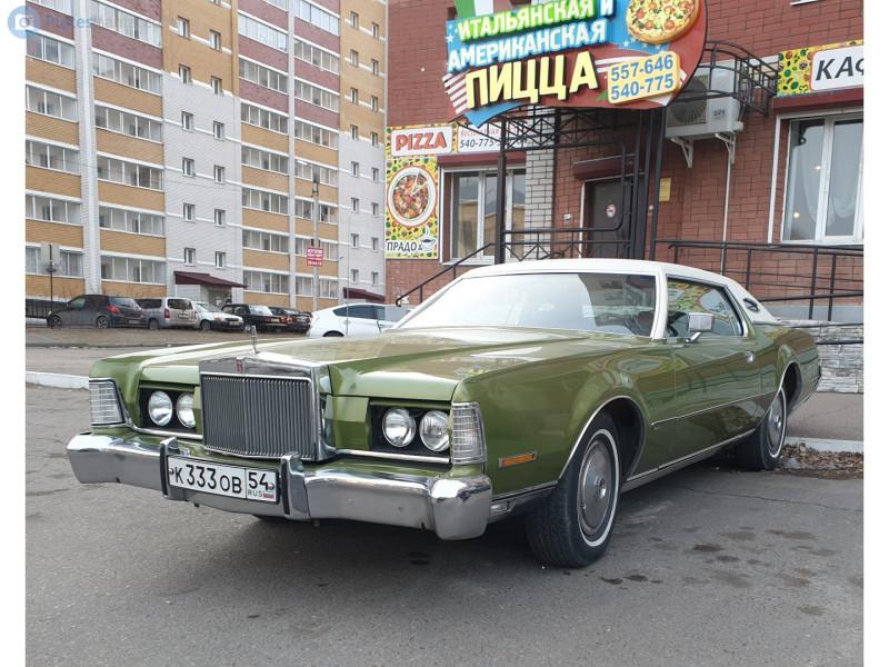 1972'Lincoln Continental Mark IV (к333ов54 - в Благовещенске)
