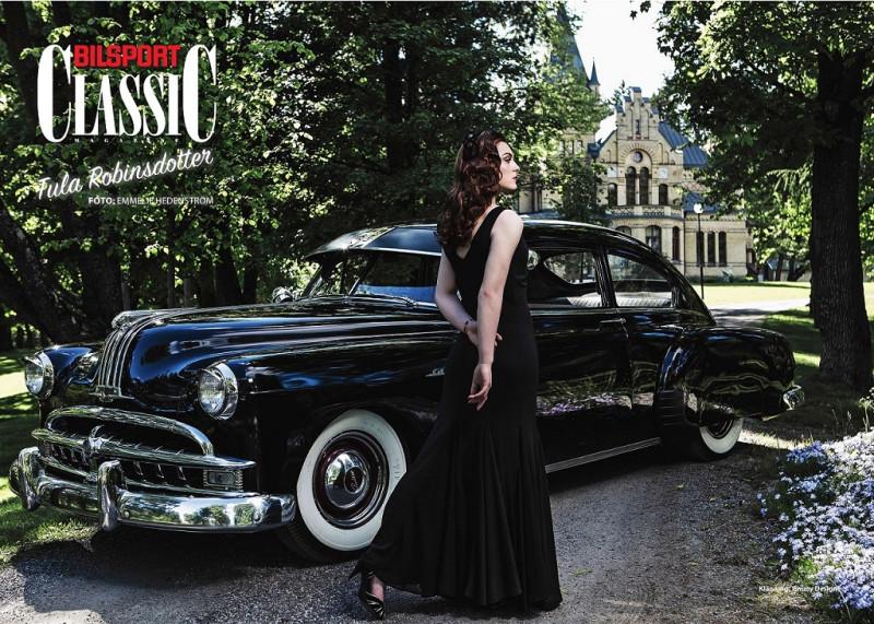 "1949 Pontiac Chieftain 2 door Sedan (из журнала - ""Bilsport Classic"" Oktober 2017)"