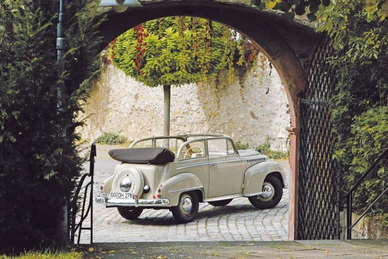 "1950 Opel Olympia Cabrio (по материалам ""Auto Plus Classiques"" 2018)"