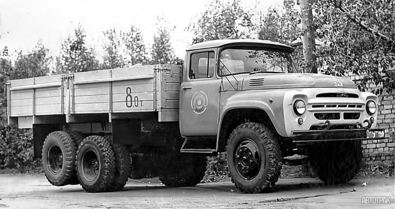 ЗИЛ-130-НИИАТ-03_Опытный 6х2