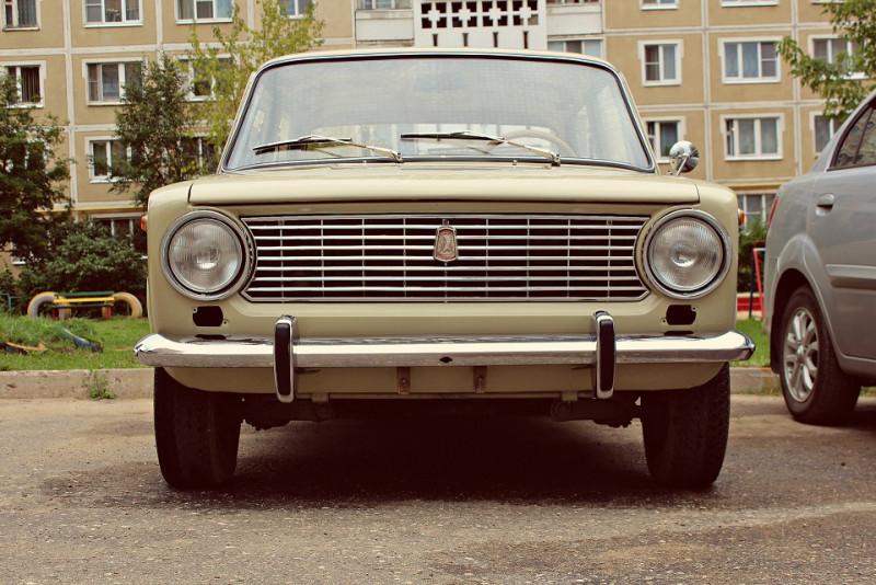 1970-е ВАЗ-2101 на реставрации
