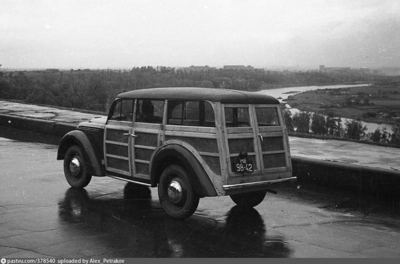 1940-е Москвич 400-422 (мб 98-42)