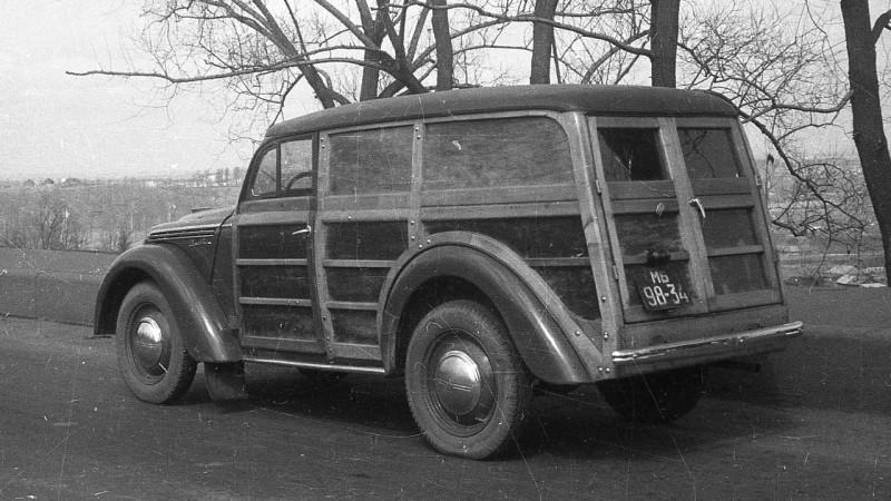 1940-е Москвич 400-422 (мб 98-34)