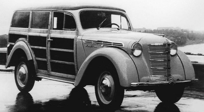 1940-е Москвич 400-422