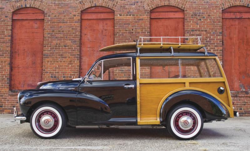 "1955 Morris Minor Traveller (по материалам журнала ""Hemmings Sports & Exotic Car"" 2017 №4)"
