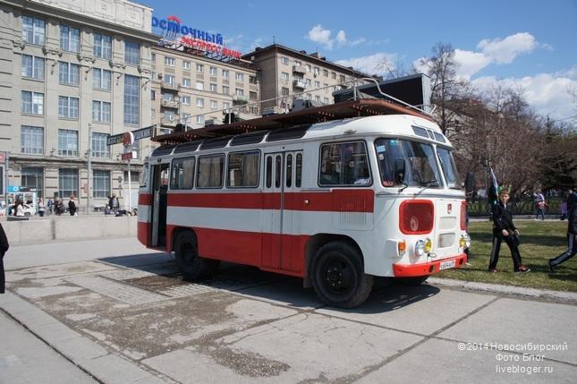 2014 Новосибирск 1 Мая (автобус ПАЗ)