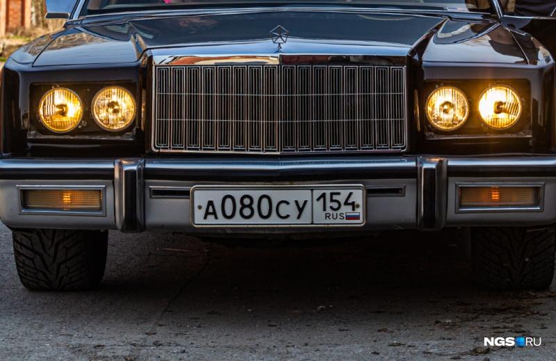 1980 Chrysler New Yorker (А080СУ 154) - по материалам НГС