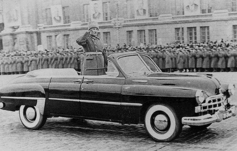 ГАЗ-12 ЗИМ Парадный (Свердловск, 1965)